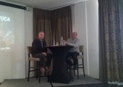 Paul Desacco : CSC et Laurent De Cooman:CGSP